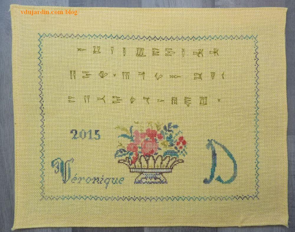 Alphabet Ugarit pour mon marquoir de Nans 2015