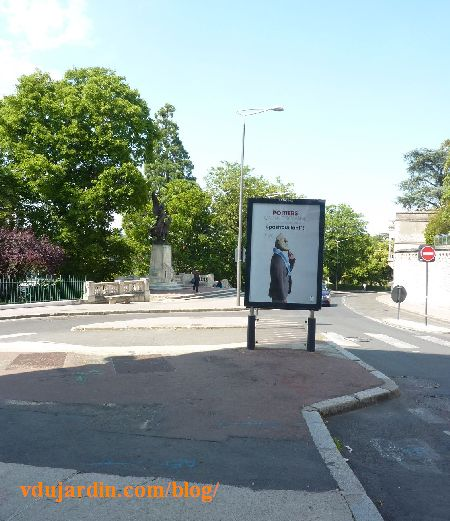 Congrès du PS à Poitiers, 5 juin 2015, vers le monument aux morts à 17h
