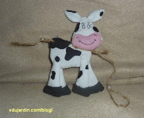 La vache du haricot magique terminée