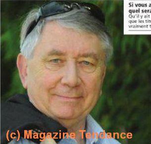 Détail d'Alain Fouché dans le magazine Tendance