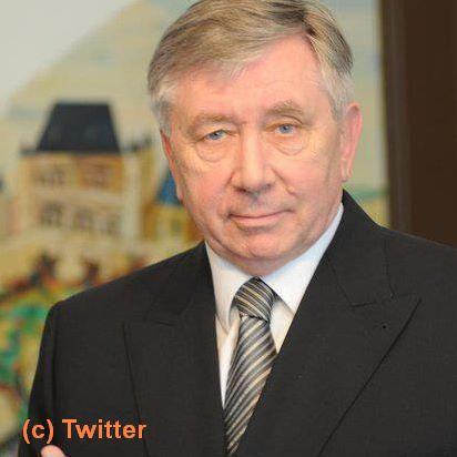 Photographie du profil Twitter du sénateur Alain Fouché