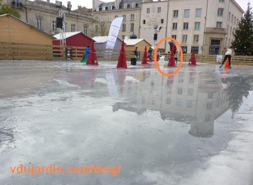 Poitiers, ça patauge à la patinoire, 29 novembre 2015