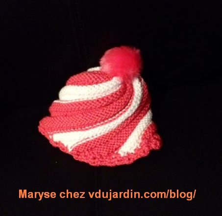 Bonnet de Maryse (layette)