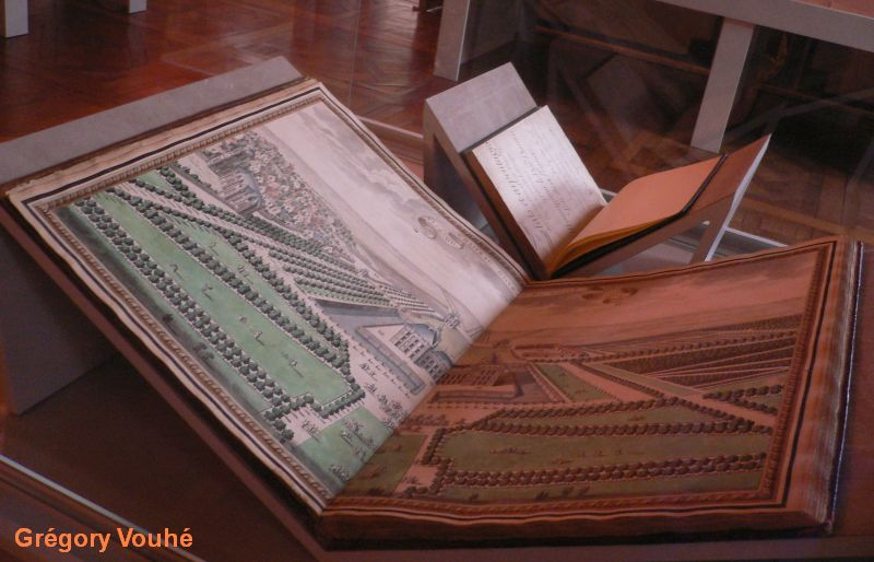 Oiron, recueil des plans des terres et du château d'Oiron