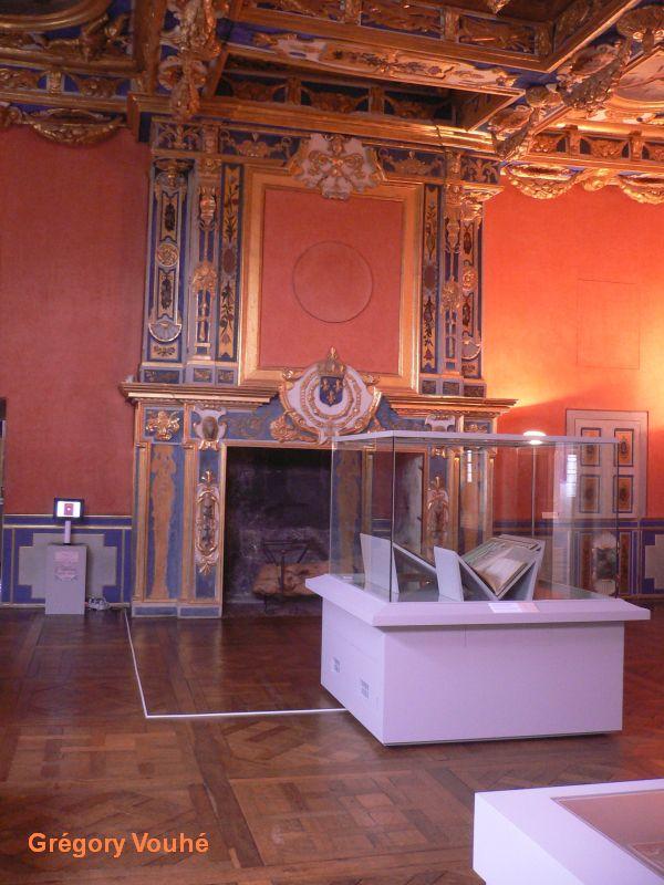Château d'Oiron, cabinet