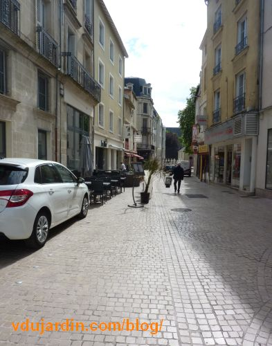 Rue Saint-Nicolas à Poitiers, 7 mai 2016