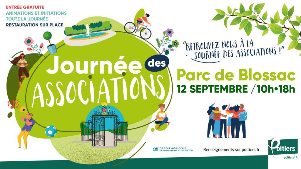 Affiche de la journée des associations 2021